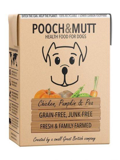 Pooch and mutt mokra hrana ta pse piščanec in buča brez žitaric tetrapak
