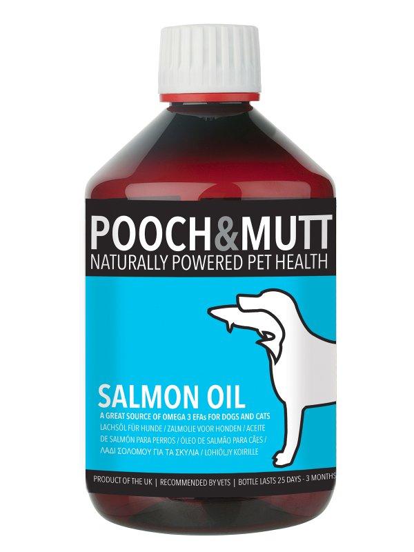 lososovo olje za pse pooch mutt za zdravo dlako kožo omega maščobne kisline