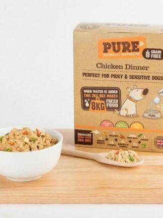 Pure Chicken Dinner izgled pripravljenega obroka