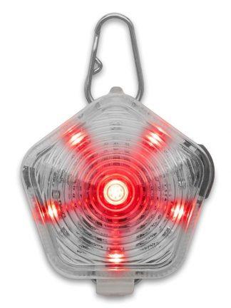 ekstra močna lučka za pse rdeča modra zelena polnilna USB lahka vodotesna trpežna