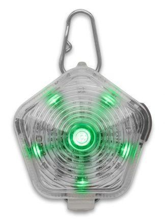 vodotesna lučka za pse ruffwear beacon zelena