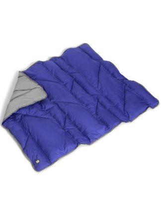 odeja za pse modra zložljiva topla trpežna