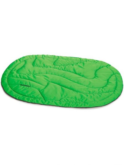zložljivo ležišče za pse ruffwear zeleno udobno toplo lahko