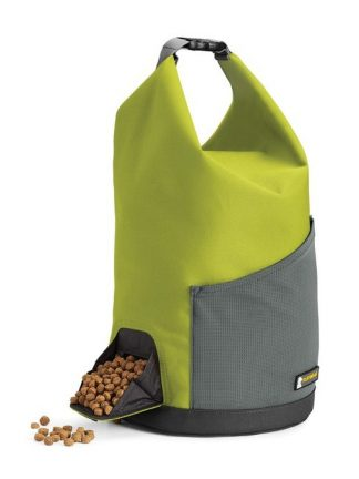 prenosna vreča za brikete najlon zelena z žepom priročno vsuvanje