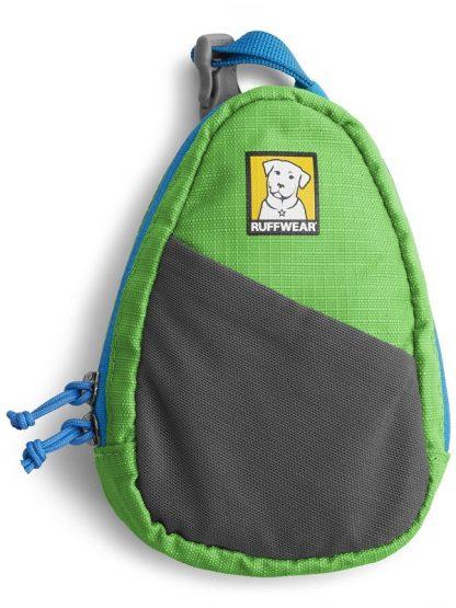 priročna torbica za pasje vrečke zelena najlon