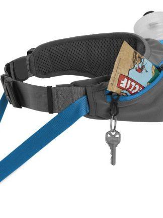 trail runner pas za tek s psom ključi bidon vrečke quick release