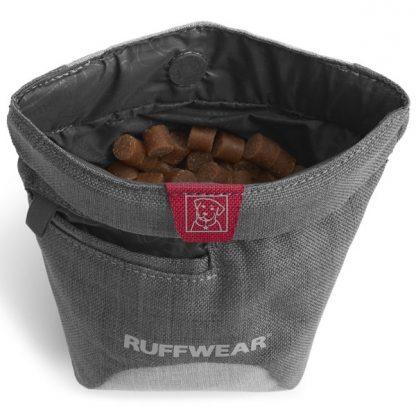 torbica za priboljške znotraj treat trader siva z žepkom za vrečke