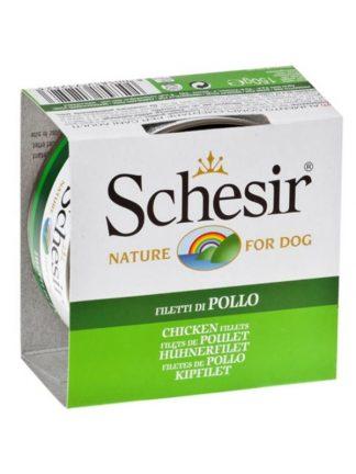 Schesir pasja konzerva piščanec fileji naravni
