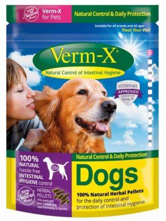 verm-x naravno prehransko dopolnilo za pse proti zajedavcem glistam
