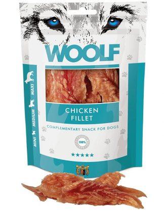 woolf piščančji fileji naravni pasji priboljški