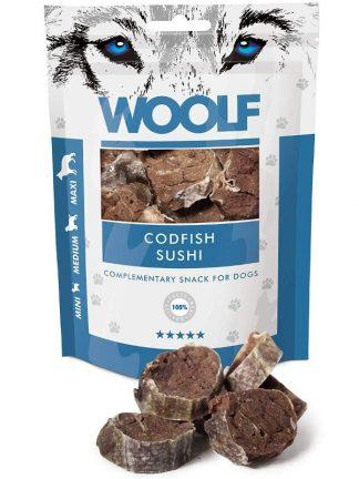 Woolf suši iz polenovke naravni priboljšek za pse