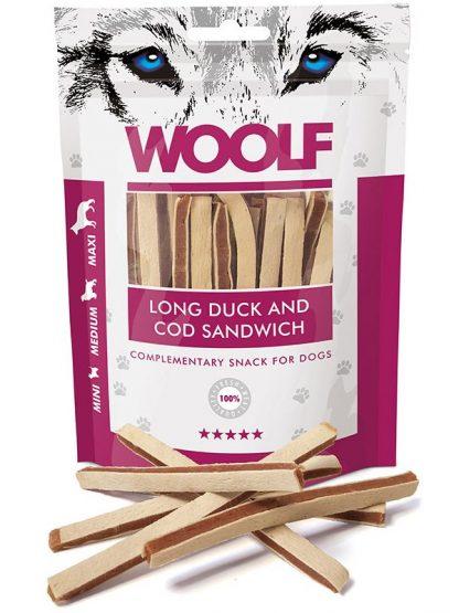 Woolf sendvič piščanec polenovka mehki priboljški za učenje psov