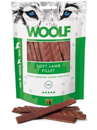 Woolf file jagnjetina mehki priboljški za pse primerni za šolanje in trening