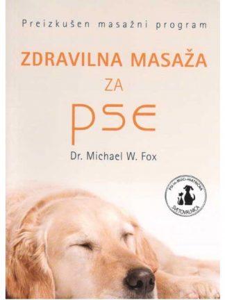 knjiga zdravilna masaža za pse naslovnica