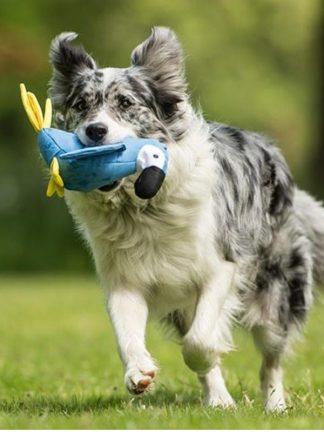 beco pets mehka igrača za pse papiga