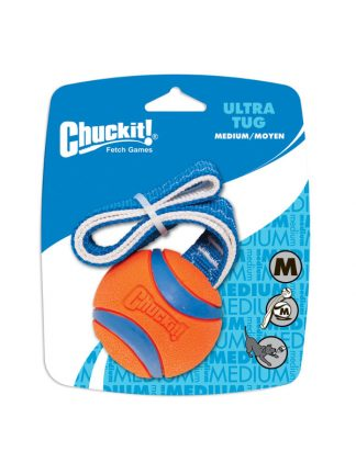 chuckit žoga ultra tug žoga na vrvi