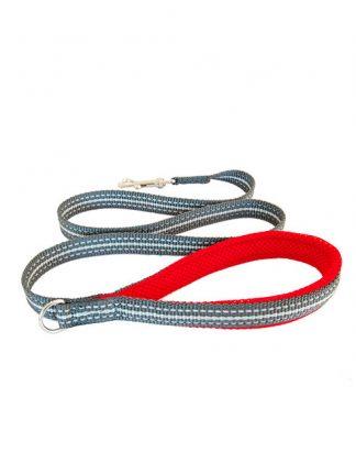 vrvica za psa rdeča