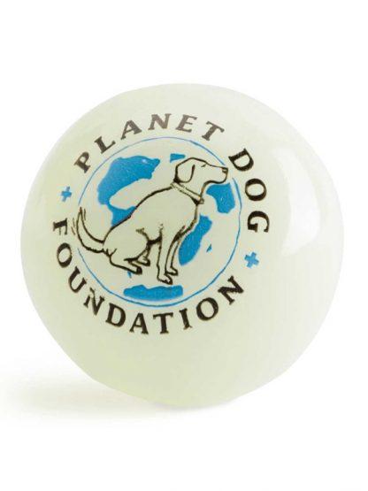 svetleča žoga za pse