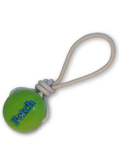 žoga na vrvi za pse planet dog