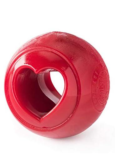 žoga za psa v obliki srčka planet dog love