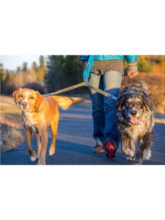 povodec za dva psa ruffwear doubletrack coupler