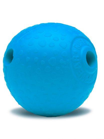 žoga za psa z odprtino nenavadne oblike