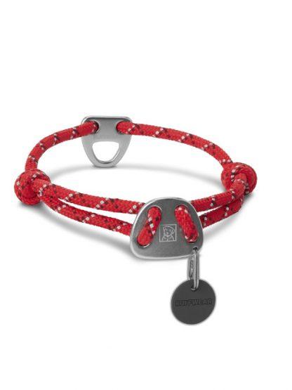 ruffwear knot a collar ovratnica rdeča