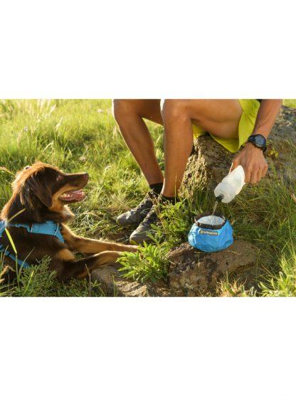 zložljiva pasja posodica ruffwear trail runner
