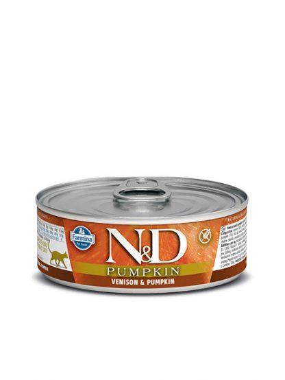 N&D buča in jene hrana za mačke konzerva
