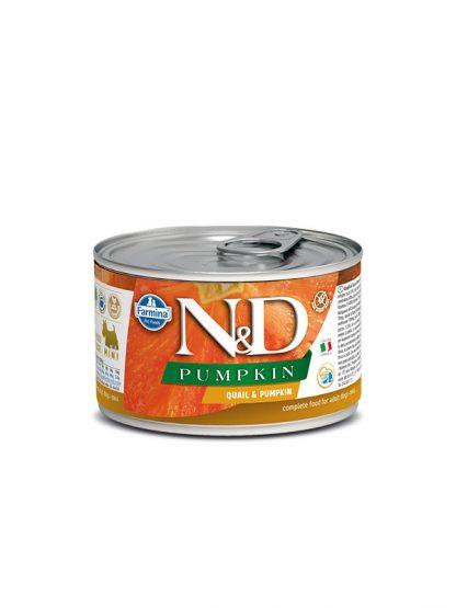 N&D hrana za pse buča prepelica konzerva