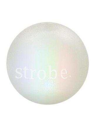 svetleča pasja žoga sveti v temi bela mehka tri barve