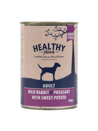 healthy paws konzerva kunec in fazan