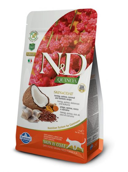N&D hrana za mačke kvinoja riba