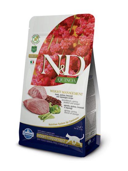 N&D hrana za mačke kvinoja weight management