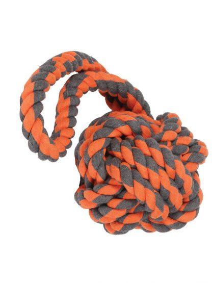 žoga iz pletene vrvi igrača za pse vozel