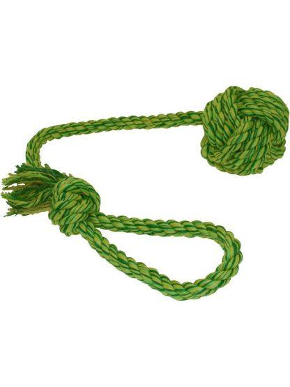 pletena vrv igrača za pse vozel