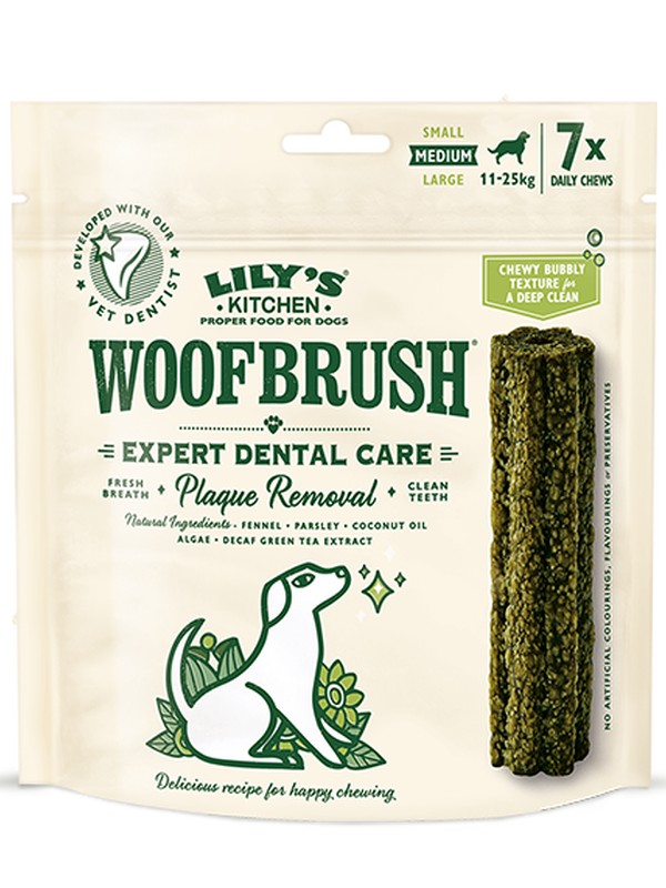 LILYS KITCHEN WOOFBRUSH MULTIPACK
