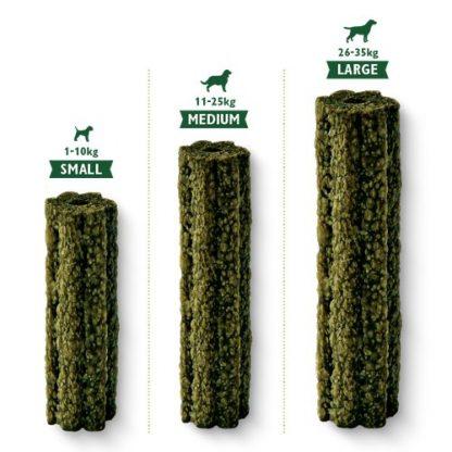 lilys kitchen žvečjivke zelenjavne za velike majhne in srednje pse za nego zob in svež dah