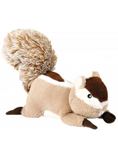 plišasta igrača za pse trixie veverica