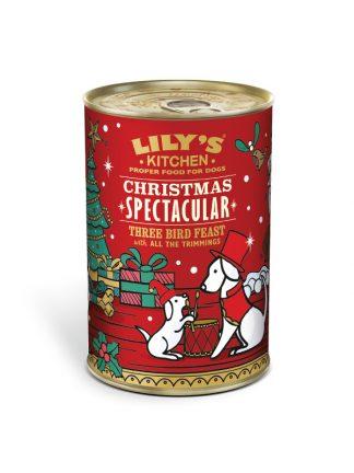 božična večerja za pse