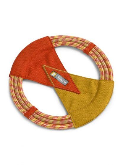 ruffwear pacific ring igrača za pse iz vrvi in najlona za prinašanje in vlečenje