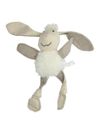 flatfeet bunny mehka igrača za pse