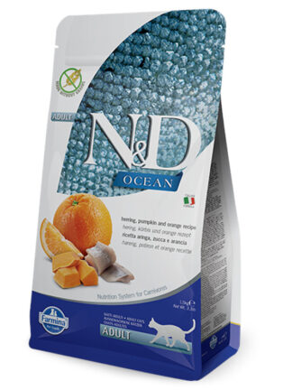 N&D za mačke riba