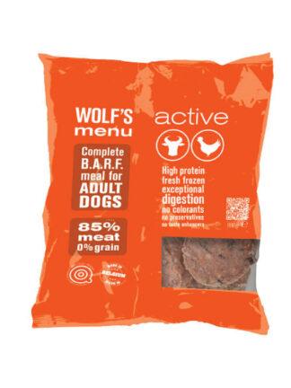 wolfs menu active govedina barf