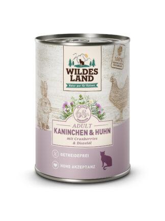 wildes land mokra hrana za mačke