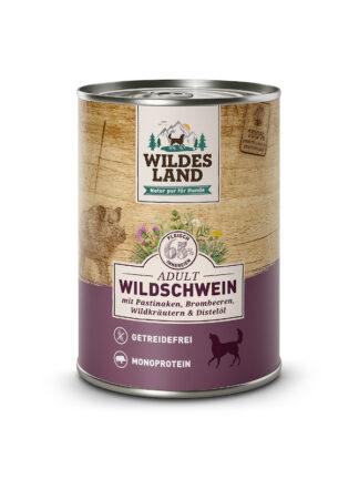 wildes land mokra hrana za pse divja svinja