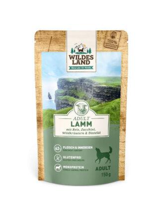 wildes land jagnjetina mokra hrana za pse